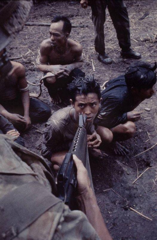 Viet Nam - suspected Viet Cong.