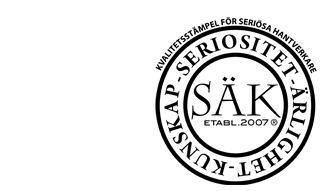 Svensk Hantverkskontroll – För hantverkare och konsument