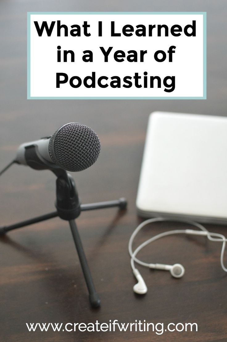 The Good, Bad, & Ugly of My First Year Podcasting - http://createifwriting.com/053-2/