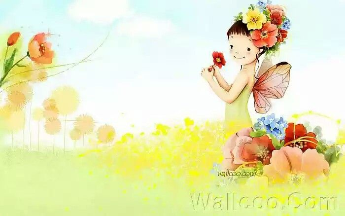 Image Description : Digital illustration, illustration artwork, South Korean Piainter,Cartoon illustrations, Art Illustration : Flower Fairy Girl , Colourful Spring Girl 、Colorful Beautiful and artistic illustraions, dreamy and peaceful, softness style, pastel color, Webjong, Kim Jong Bok illustrations, Kim Jong Bok Cartoon illustration, Sweet and beautiful children illustration , fairylike cartoon girls, Fairy, Cute and lovely