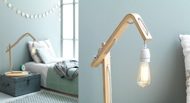 Réaliser une lampe design avec un tabouret IKEA