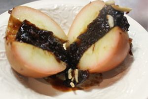 Baked Apple with Prune and Orange Recipe