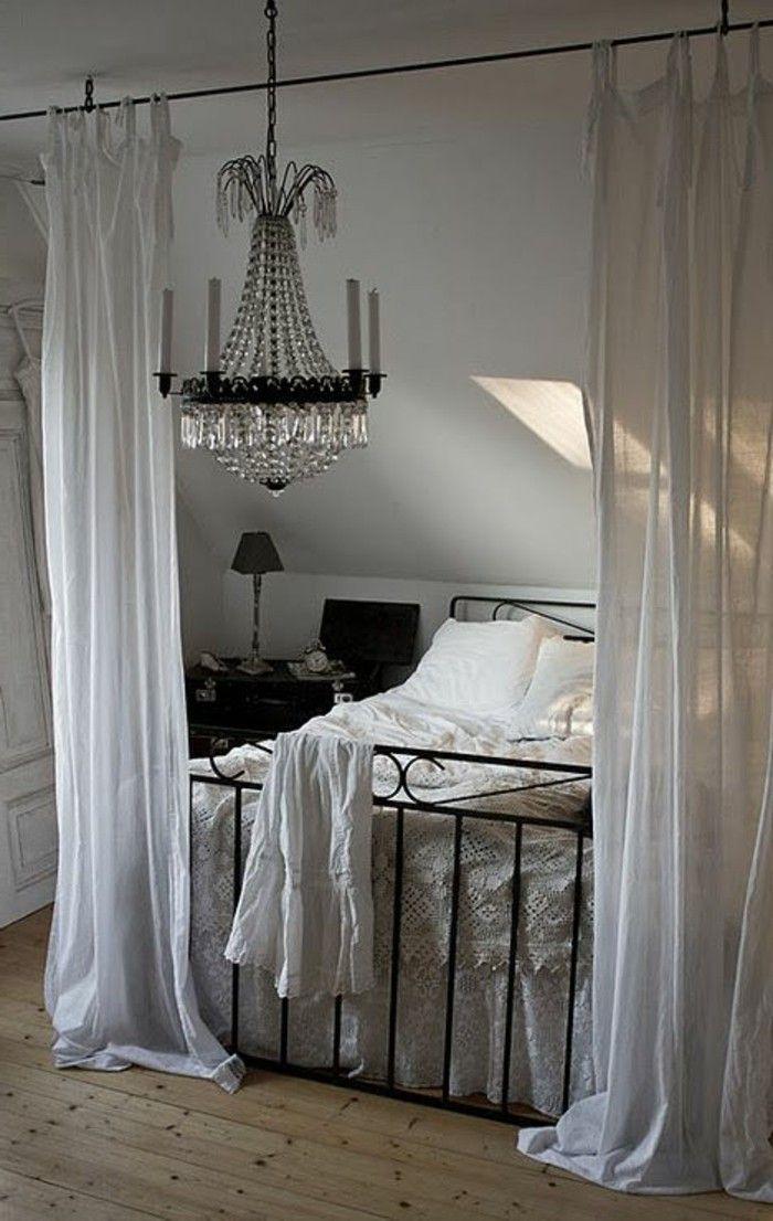 17 meilleures id es propos de lits en fer forg sur pinterest literie d - Fer forge chambre coucher ...