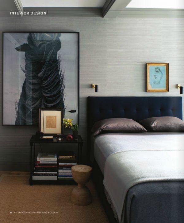 Bedroom large art ceiling grasscloth color palette for International bedroom designs
