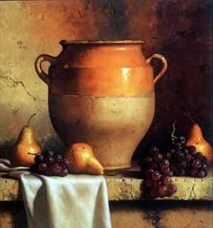 """A """"still life"""" is an artist's rendering of inanimate objects, such as a painting of a bowl of fruit. These inactive, dormant objects do nothing but sit ..."""