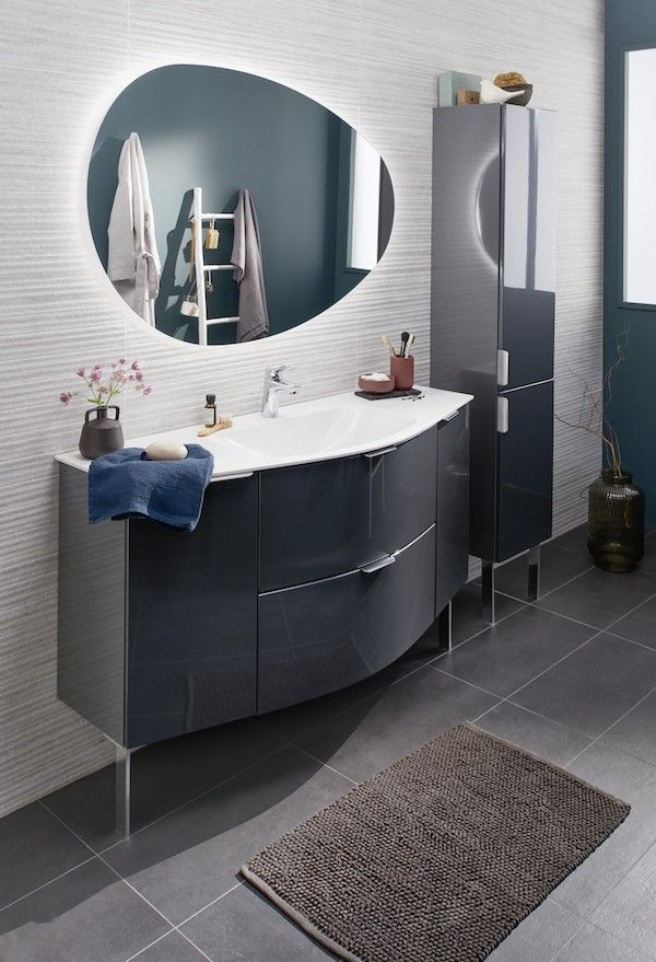 Meuble De Salle De Bains Irresistible Sleek Bathroom Bathrooms Remodel Dream Bathrooms