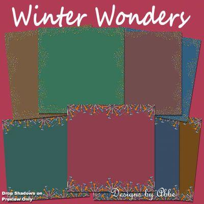 Winter Wonders Papers