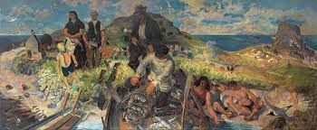 Gilbert Spencer - Hebridean Memory, 1951