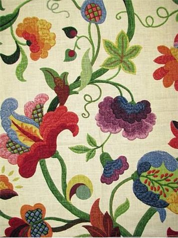 Gloria Jubilee Richloom    Wish, Oh How I Wish, I Could Afford To. Curtain  FabricCurtainsFloral ...