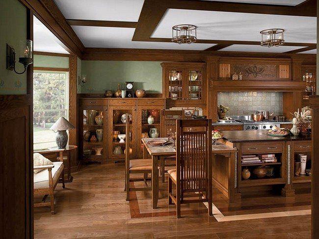 Modern Craftsman Interior Design