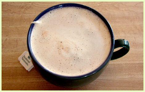 yerba mate latte : raw honey, cashew butter, cinnamon, vanilla, himalayan sea salt, yerba mate