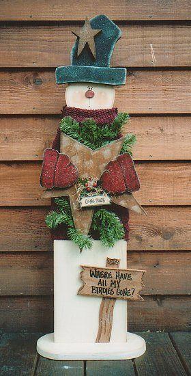 snowman for front porch