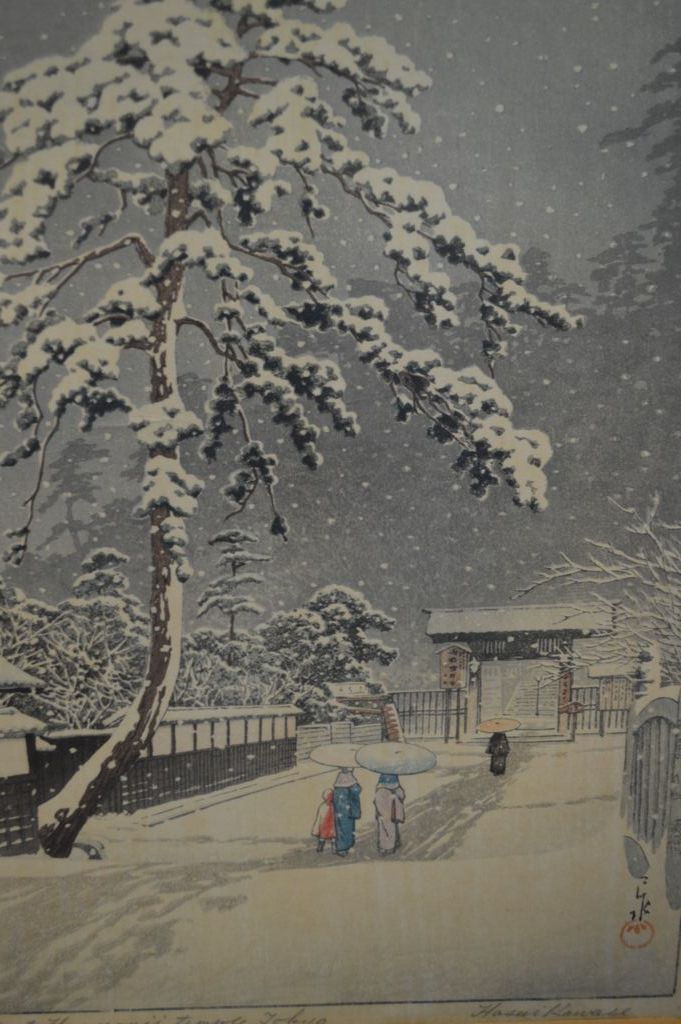 Fine Vintage Kawase Hasui 1883