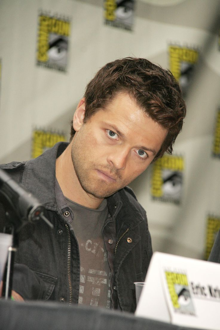Misha Collins (Supernatural) at SDCC