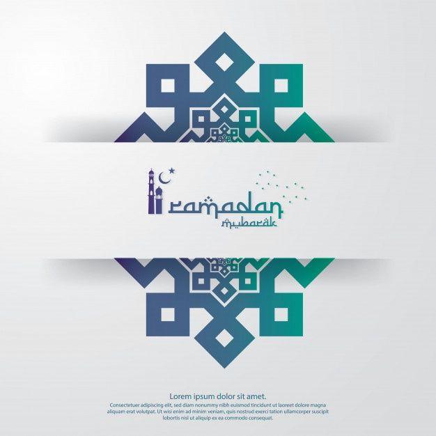 Ramadan Kareem Or Eid Mubarak Template In 2020 Eid Mubarak Greetings Invitation Banner Ramadan Kareem