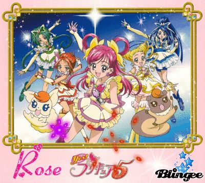 Yes pretty cure 5!
