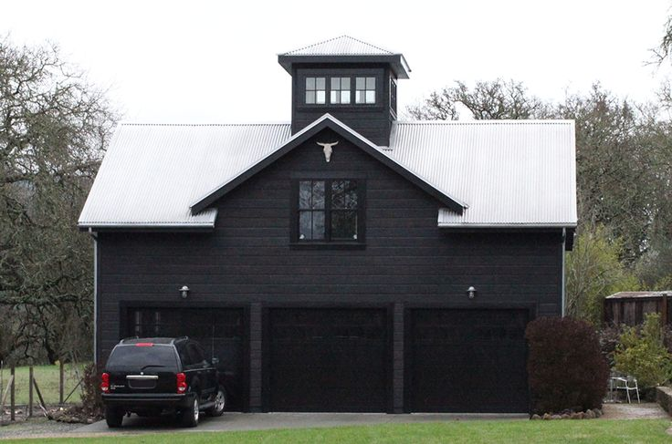 The Oakland Home Of Patrick Printy: 25+ Best Ideas About Black Barn On Pinterest