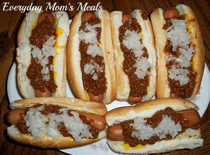 ~Coney Sauce~ The perfect topping for a hot dog, it's not a chili sauce...it's so much more! A family favorite for years, these are always a crowd pleaser!