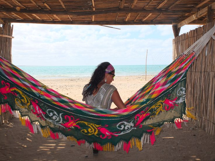 Hang out and relax on the beach in Colombia