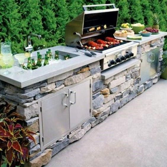 Outdoor Built In Grill Ideas