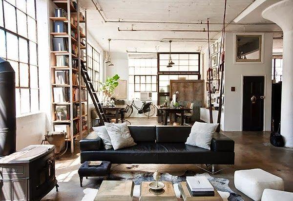 Virlova Style: [Industrial] Ecléctico industrial en Brooklyn