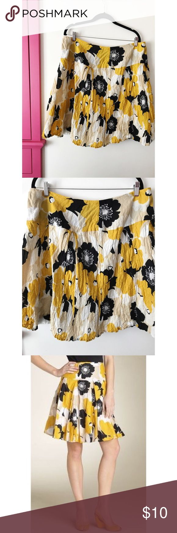 Karen Kane Floral Skirt EUC. Flares out, super flattering with back zipper. All clothes in my closet are either dry cleaned or washed in gentle cycle with organic allergen friendly detergent and air-dried indoors to prevent piling, color fade and shrinkage. Karen Kane Skirts A-Line or Full