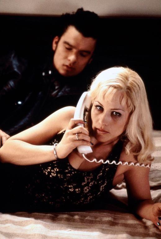 "Patricia Arquette in ""Lost Highway"" (1997). DIRECTOR: David Lynch. #WomenInNoirFilms http://www.quaintrellism.net"