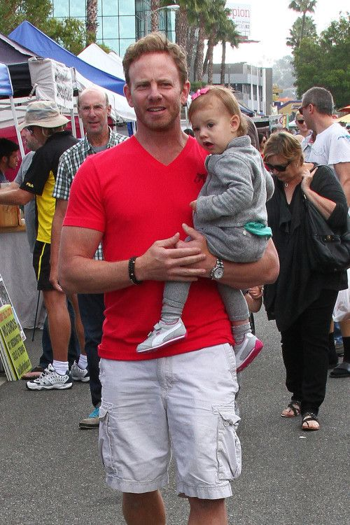 Ian Ziering's Daddy-Daughter Date
