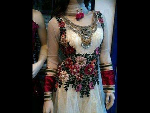 Latest Pakistani Party Wear Dresses Fashion Of 2017 - YouTube