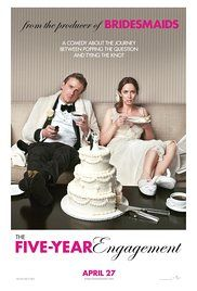 The Five Year Engagement Torrent Download. One year after meeting, Tom proposes to his girlfriend, Violet, but unexpected events keep tripping them up as they look to walk down the aisle together.