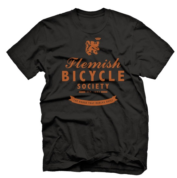 Flemish Bicycle Society (Front) - in honor of a country of cycling fanatics (BEL)