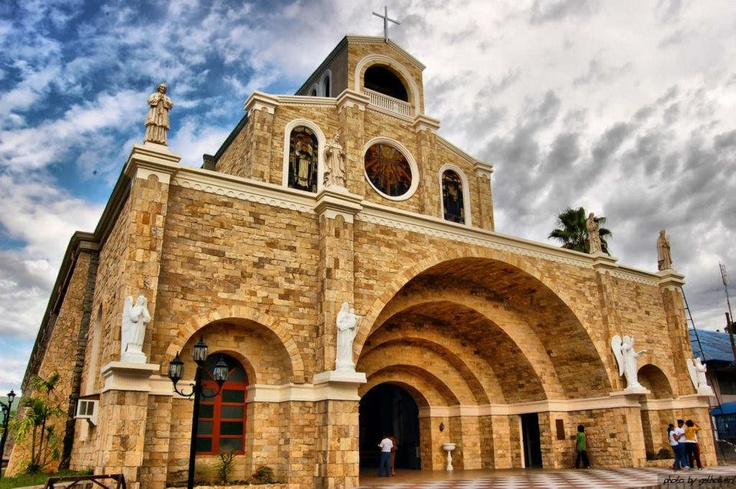 THE HOLY ROSARY CATHEDRAL, DIPOLOG CITY, IN ZAMBOANGA DEL NORTE, PHILIPPINES.