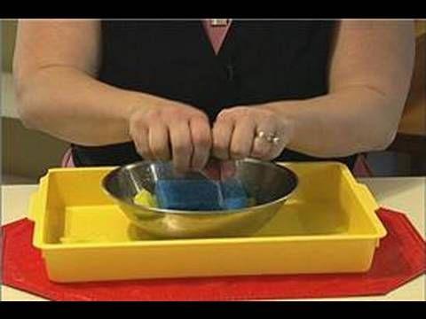 Preschool Montessori Activities : Sponge Montessori Activities