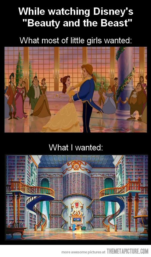 I still want that library