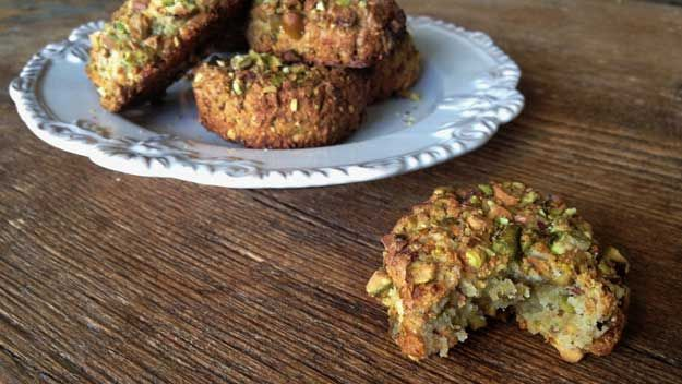 Trish Gallagher aka The Pink Leopard shares her recipe for pistachio cookies
