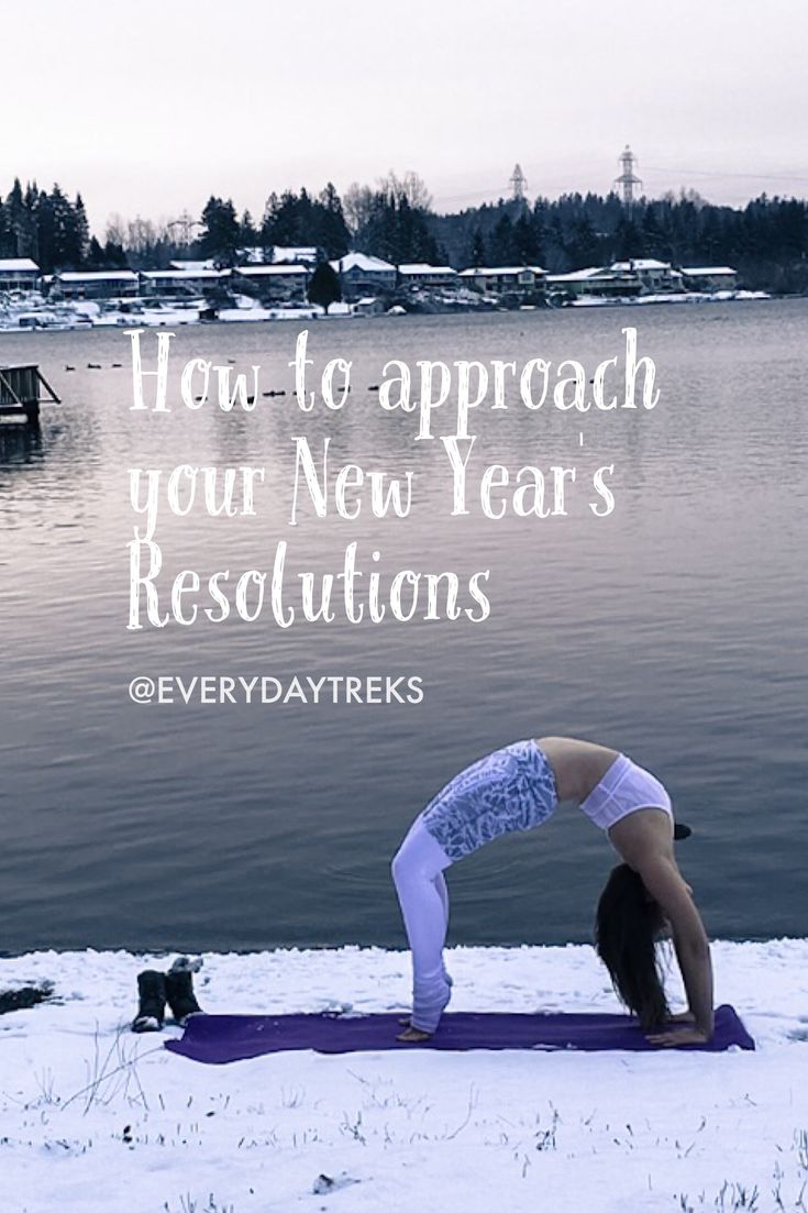 How to approach your New Year's Resolutions – everydayTREKS