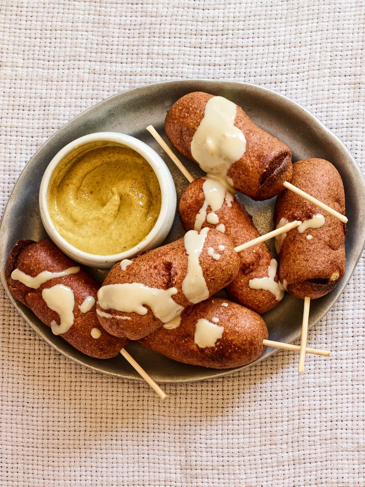 You must try this unique combination of wrapping falafel around a hot dog and frying it to golden perfection. Falafel Dogs are a Southern favorite with an Israeli twist which your whole family will enjoy!