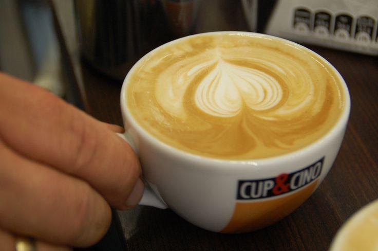 Ein Cappuccino mit Herz schmeckt einfach himmlisch!