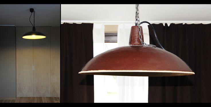 CERAMIC LAMP   Ceramic lamp project. Private apartment.