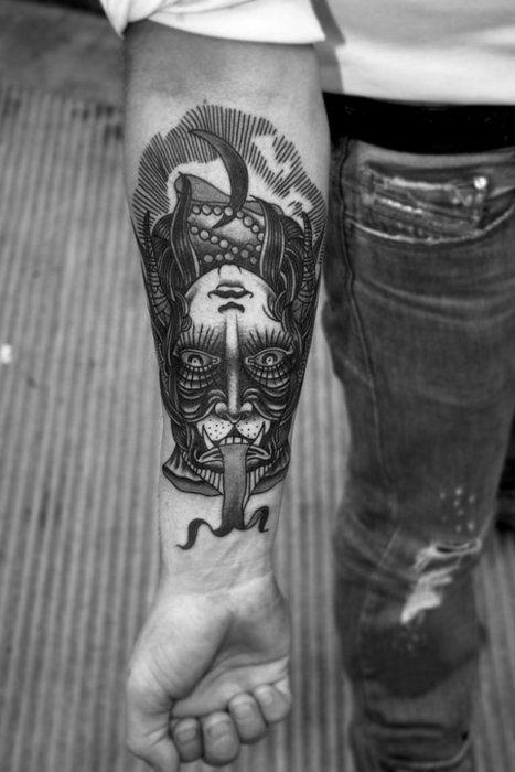 illusion tattoo.