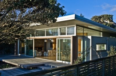 11 best modern nz baches images on pinterest beach house for Beach house designs in new zealand