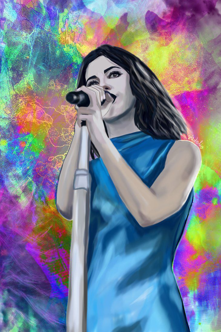 DIAMOND DAYS-Marina Diamandis-Osheaga 2015 by fullcolour-canvas.deviantart.com on @DeviantArt