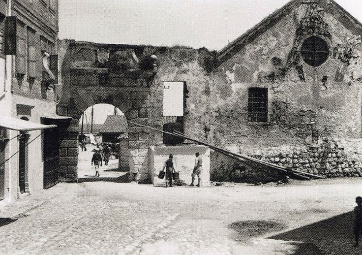 Chania Neorio and the Gate 1911