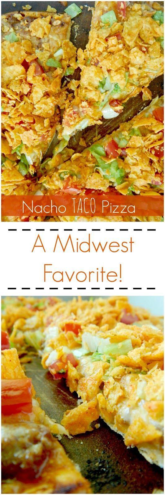 nacho taco pizza (http://sweetandsavoryfood.com)