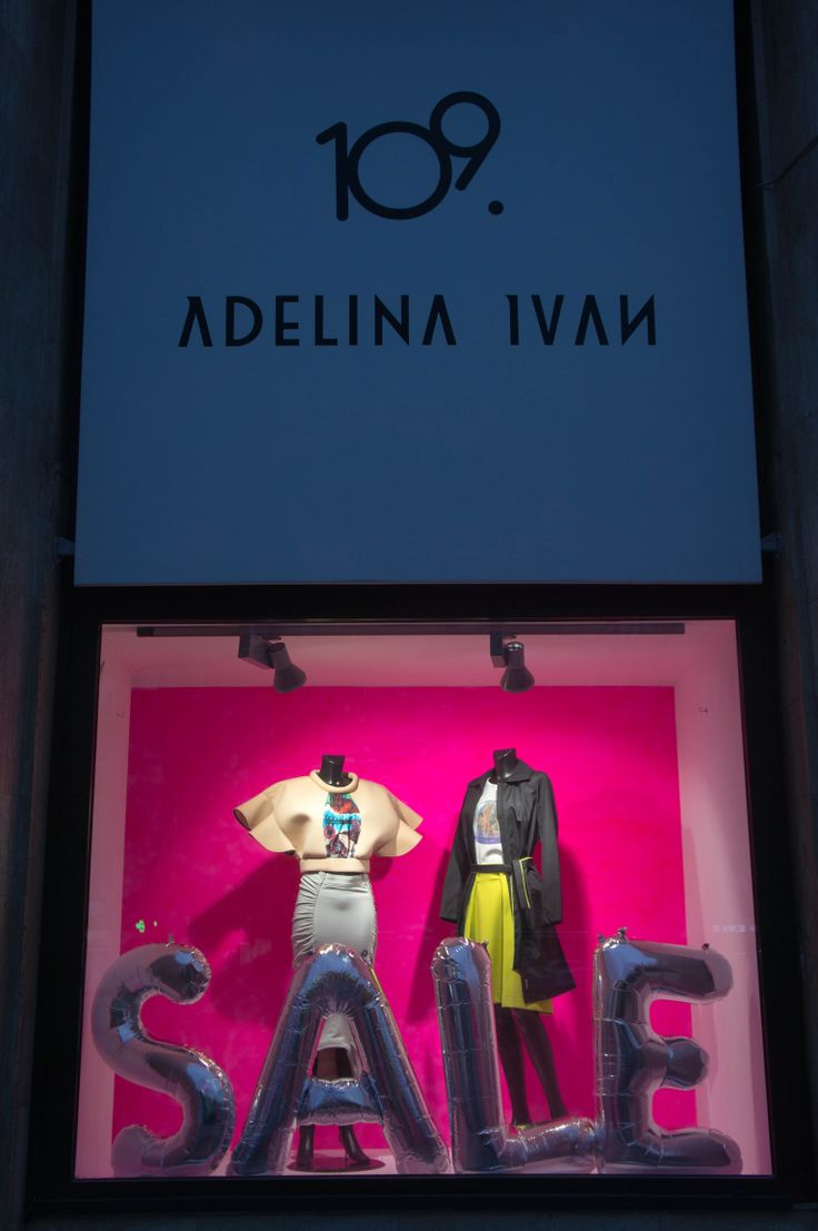 Autumn/Winter '13/'14 Delikatessen - Sale Window Display for EVA - Design Românesc, styling: 109 & Adelina Ivan