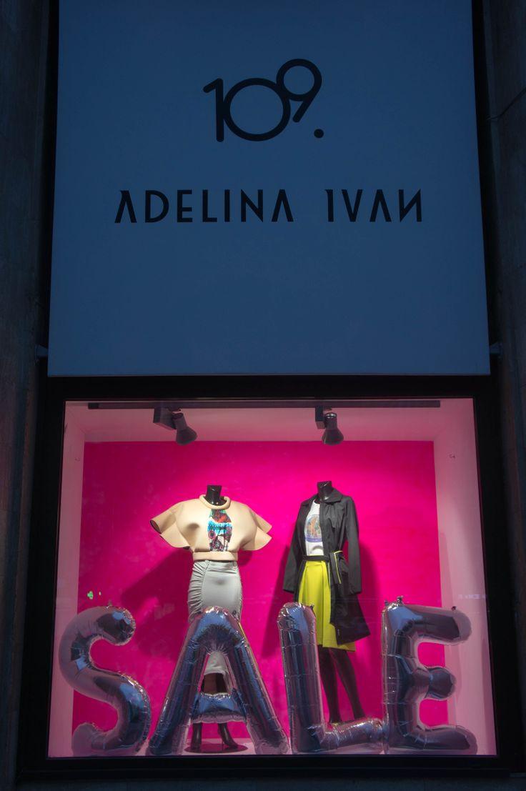 Autumn/Winter '13/'14 Delikatessen - Sale Window Display for EVA - Design Românesc, styling: 109 & Adelina Ivan