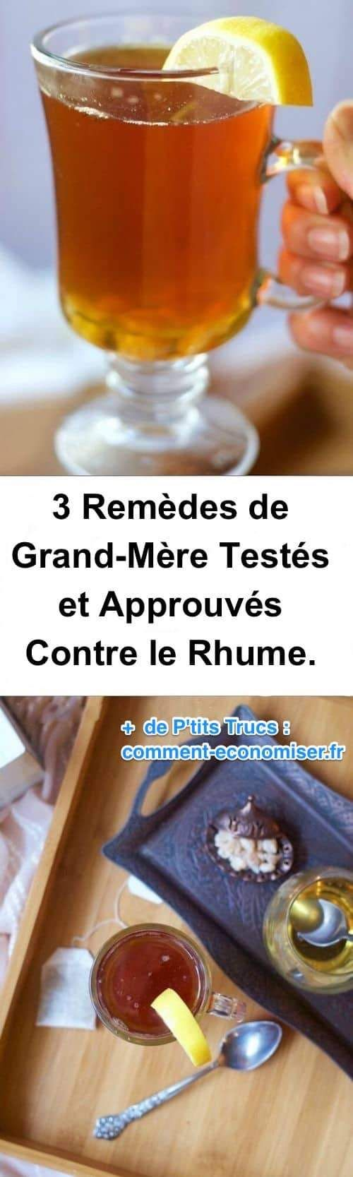 3 Remèdes de Grand-Mère Testés et Approuvés Contre le Rhume.