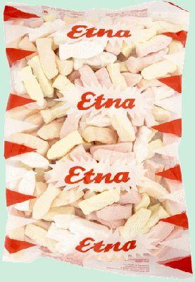 ETNA guimauve Sainte Vierge 1kg ETNA fabrique des guimauves en forme de Sainte Vierge. Il est conseillé de garder dans un emballage fermé après ouverture afin qu'elles gardent toute leur fraicheur. www.chockies.net