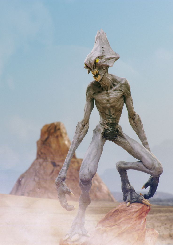 Caio César (caiofantini.blogspot.co.uk) helps you set up a sci-fi scene for your alien character in the ZBrush Characters & Creatures book