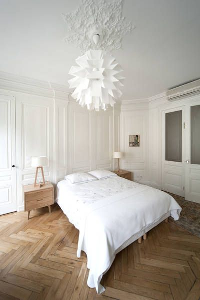 17 meilleures id es propos de int rieurs d 39 appartements parisiens sur pinterest appartement. Black Bedroom Furniture Sets. Home Design Ideas